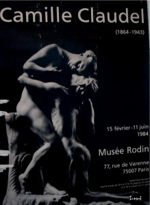 Exposition Camille Claudel 1984